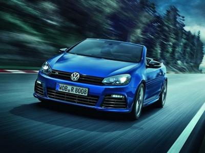 «Шестой» VW Golf R Cabriolet
