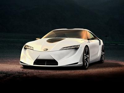 Концепт-кар Toyota FT-HS