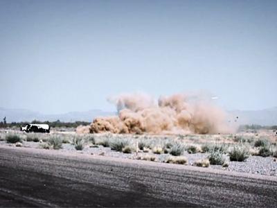 Крушение вертолета на съемках передача Top Gear