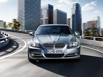 Рестайлинговый BMW 3 серии в кузове E90
