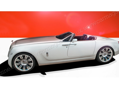 Предполагаемый внешний вид родстера Rolls-Royce с V16
