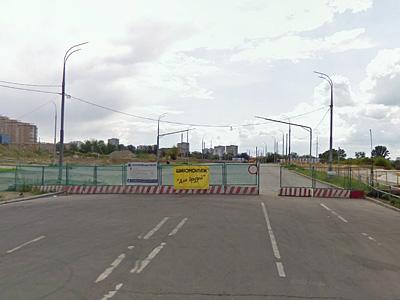 Тупик на Мосфильмовской улице в Москве