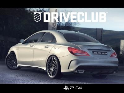 Иллюстрация Mercedes-Benz CLA 45 AMG к игре Driveclub