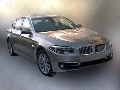Обновленный седан BMW 5-Series