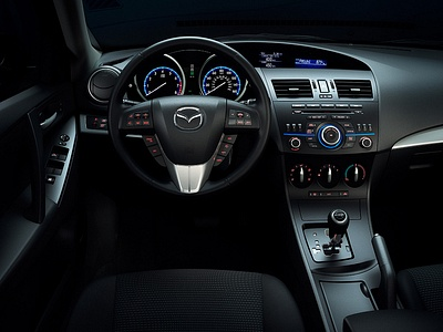 Интерьер Mazda 3