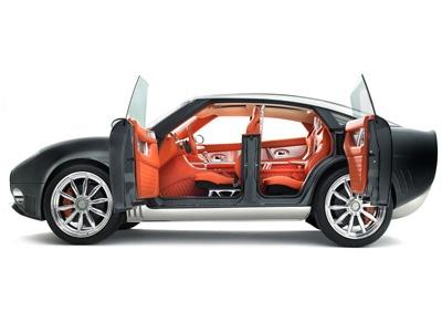 Spyker D8 Peking-to-Paris Concept