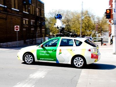 Автомобиль Google в Оттаве