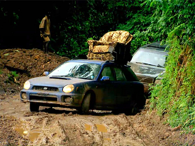Subaru Impreza Ричарда Хаммонда