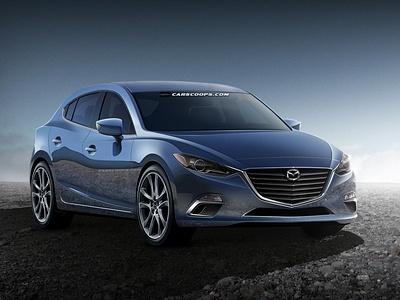 Эскиз новой Mazda 3