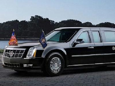Бронированный Cadillac Барака Обамы