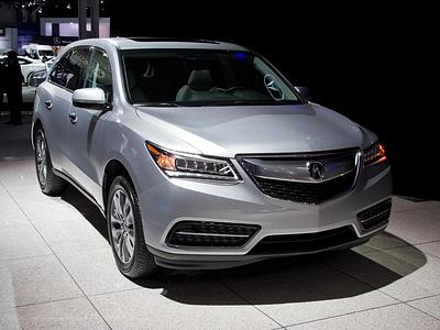 Новая Acura MDX на Нью-Йоркском мотор-шоу