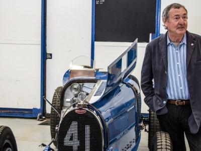Ник Мэйсон и его Bugatti