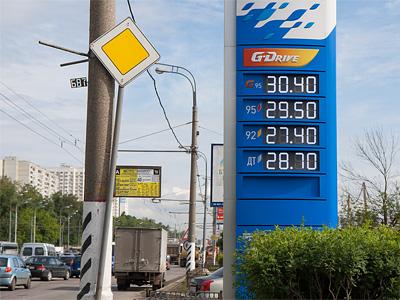 Стоимость топлива на АЗС летом 2012 года