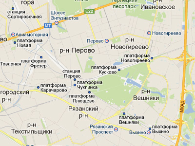 Участок строительства Косинской эстакады