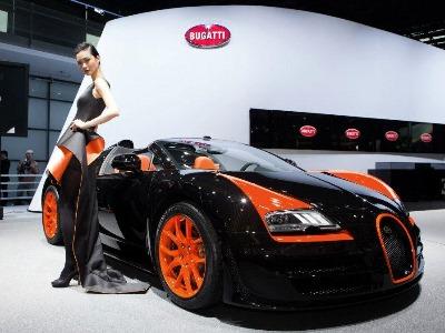 Bugatti Veyron Grand Sport Vitesse WRC Edition