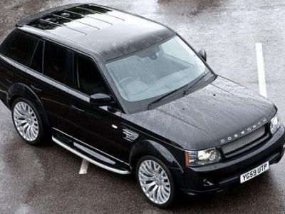 Range Rover Santoniri Black RS 600 Kahn Cosworth