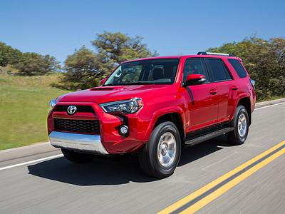 Обновленный Toyota 4Runner