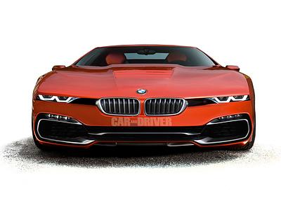 Предполагаемый облик BMW M8