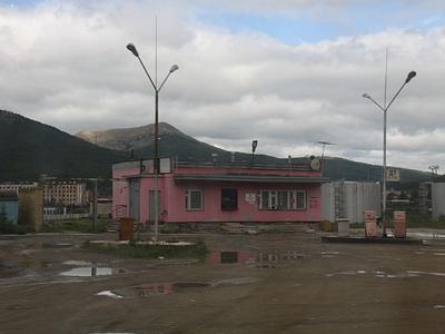 АЗС во Владивостоке
