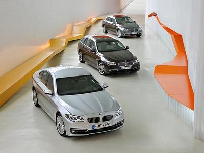 Обновленная линейка 5 серии BMW