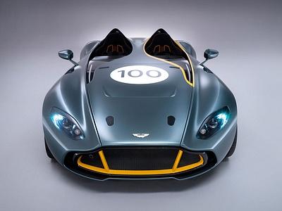 Концепт-кар Aston Martin CC100