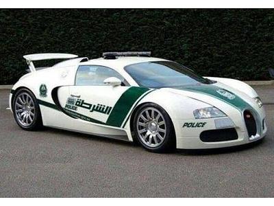Патрульный Bugatti Veyron