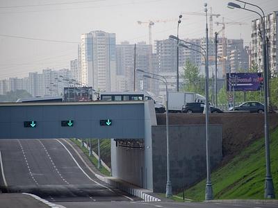 Открывший тоннель на Варшавском шоссе