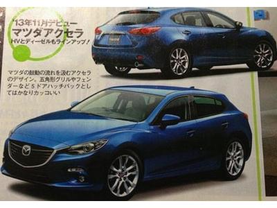 Предполагаемый облик новой Mazda 3