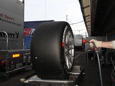 Гоночные шины Hankook для серии DTM