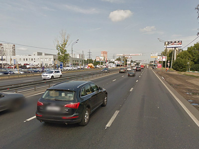 Ленинградское шоссе в районе Химок
