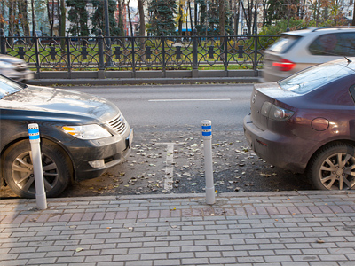 Платные паркоместа в центре Москвы