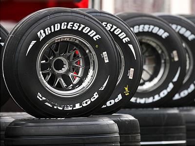 Резина Bridgestone сезона 2008