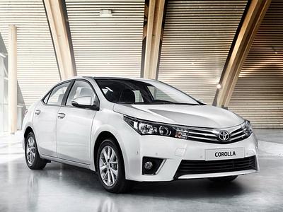 Европейская Toyota Corolla