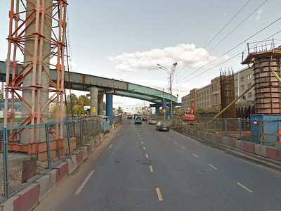 Реконструкция шоссе Энтузиастов