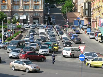 Дорожный трафик в Киеве