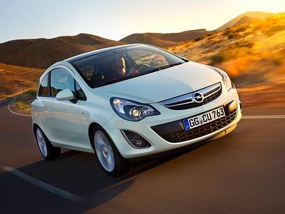 Текущее поколение Opel Corsa