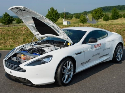 Гибридный Aston Martin DB9