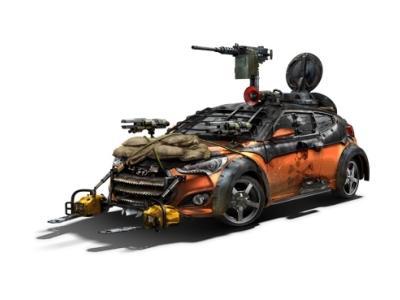 Hyundai Veloster Zombie Survival