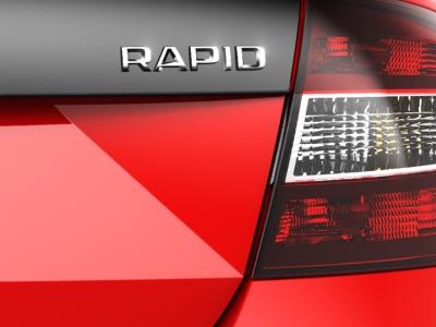 Тизер новой версии Skoda Rapid