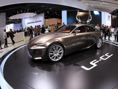 Концепт-кар Lexus LF-CC