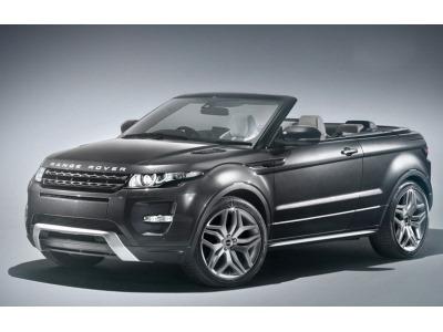 Концепт кабриолета Range Rover Evoque