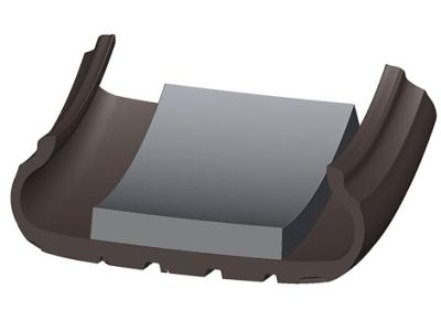 Пористый материал, помещенный внутрь шины