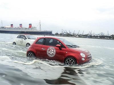 Водные Fiat 500
