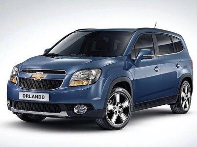 Обновленный Chevrolet Orlando
