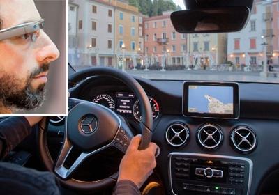 Навигационная система в Mercedes-Benz