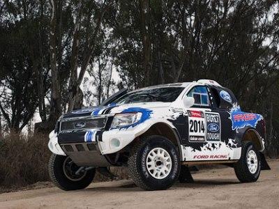 Ford Ranger для «Дакара»