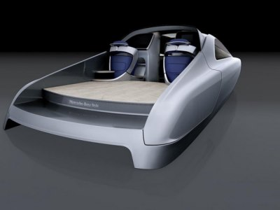 Mercedes-Benz Silver Arrow of the Seas