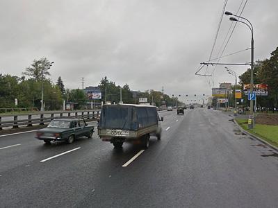 Ленинградское шоссе на направлению в область