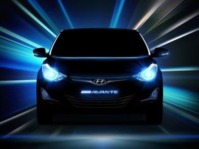 Тизер обновленного седана Hyundai Elantra (Avante)
