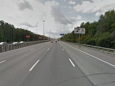 Киевское шоссе по направлению к аэропорту Внуково